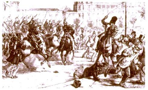 Fusillade des boulevards. 4 décembre 1851