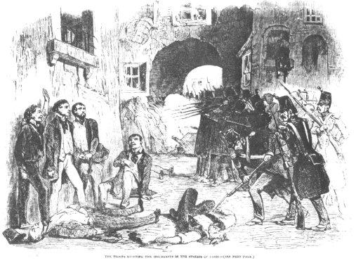 4 décembre 1851. Fusillade
