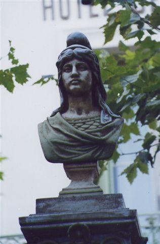 La Marianne de La Garde-Freinet - photo Gilbert Suzan