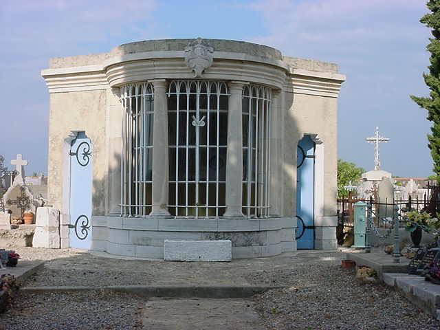 Le mausolée d'Aups (1885)